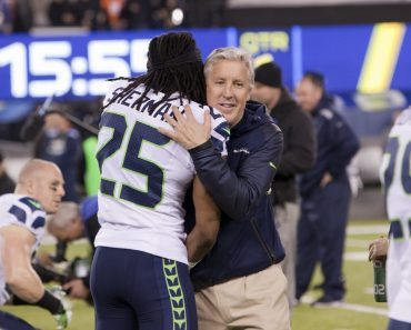 Richard Sherman Pete Carroll