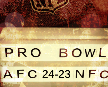 Pro Bowl Sign FootballR