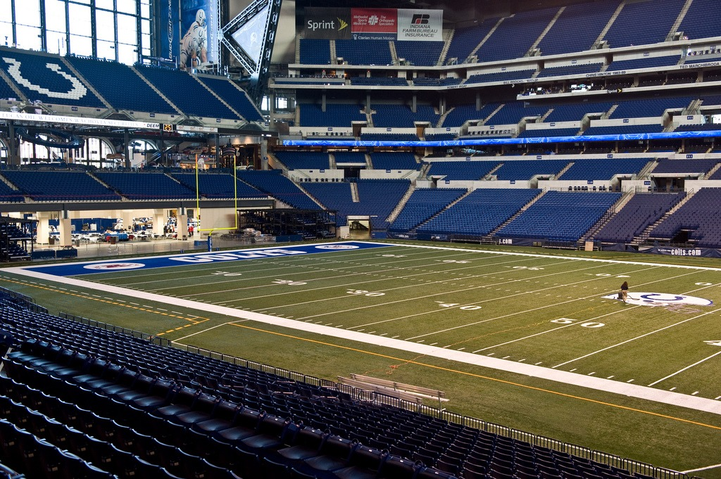 Lucas oil stadium Frank Reich Colts