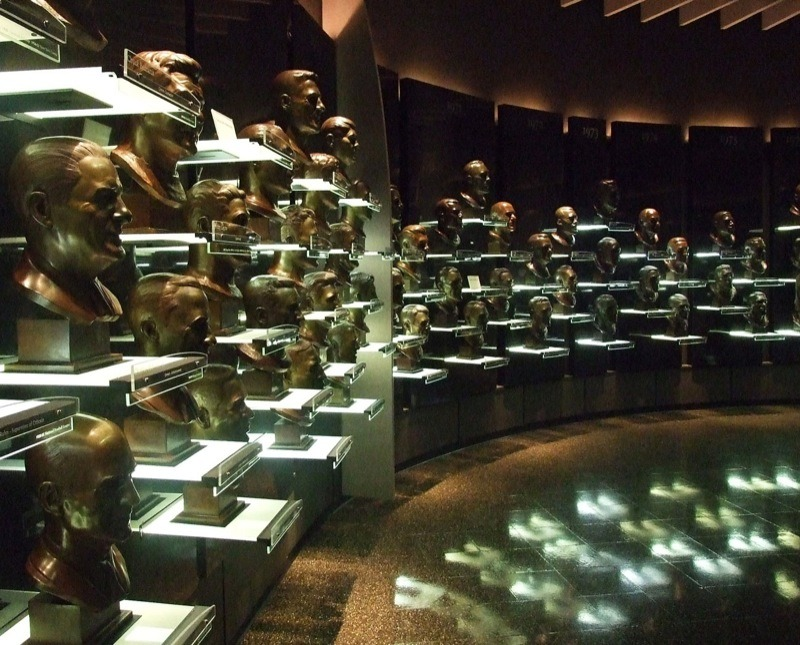 Hall of Fame Bust Room