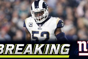 Rams traden Ogletree für 2 Draft Picks zu den Giants