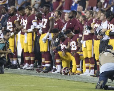 Washington Redskins Protest Hymne