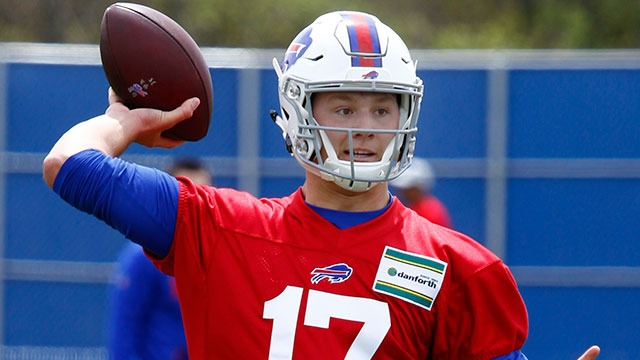 Bills Rookie minicamp Football