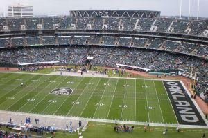 Oakland Coliseum field