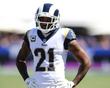 September 16 2018 Los Angeles CA Los Angeles Rams defensive back Aqib Talib 21 during the NFL