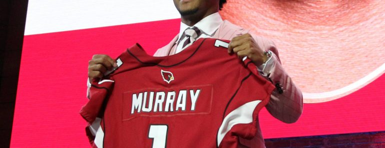 Oklahoma s Kyler Murray is drafted number one over all by Arizona Cardinals in the 2019 NFL Draft
