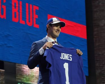 NASHVILLE TN APRIL 25 The New York Giants select Duke quarterback Daniel Jones in first round