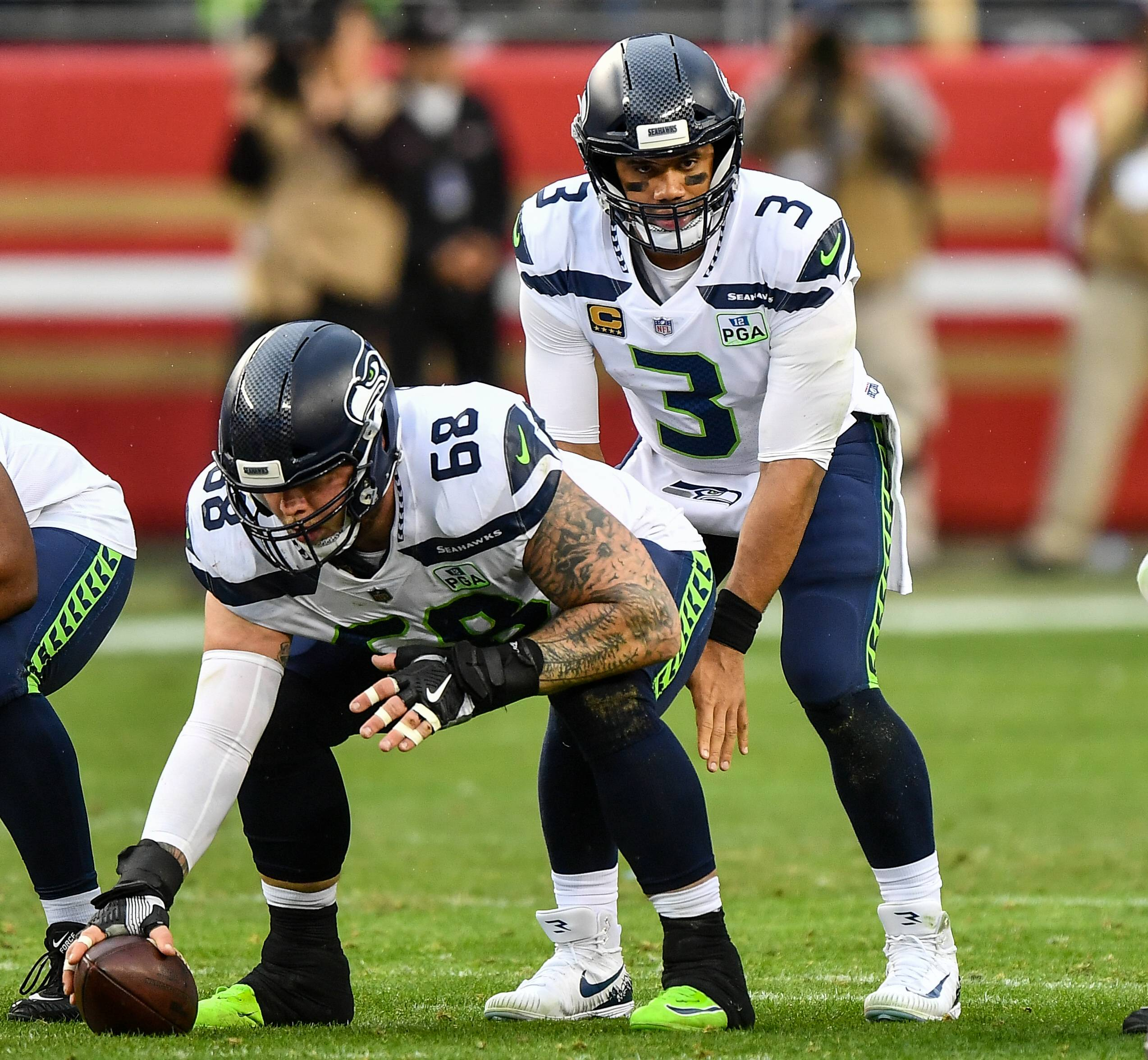 December 16 2018 Seattle Seahawks quarterback Russell Wilson 3 takes a snap from center Seattle