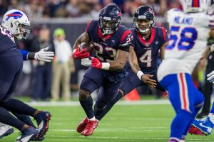 January 4, 2020: Houston Texans running back Carlos Hyde (23) carries the ball during the 3rd quarter of an NFL, America