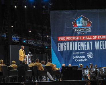 August 3rd 2019 Champ Bailey during the Pro Football Hall of Fame Enshrinement in Canton OH CSM