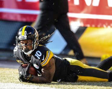 Jan 14th 2018 Steelers Martavis Bryant 10 during the Jacksonville Jaguars vs Pittsburgh Steelers g