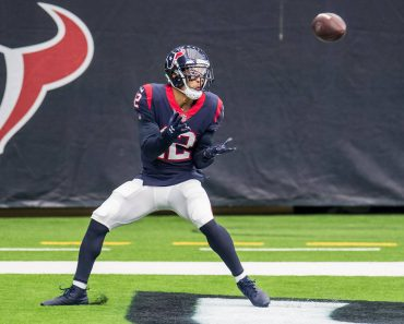 October 4, 2020: Houston Texans wide receiver Kenny Stills (12) makes a touchdown catch during the 4th quarter of an NFL
