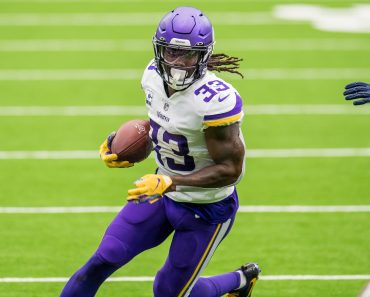 October 4, 2020: Minnesota Vikings running back Dalvin Cook (33) carries the ball during the 2nd quarter of an NFL, Amer