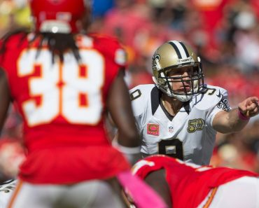 October 23 2016 New Orleans Saints quarterback Drew Brees 9 during the NFL American Football Her