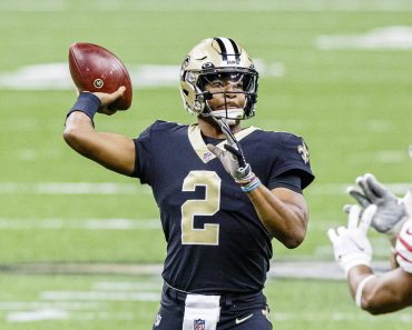 November 15, 2020, New Orleans, LOUISIANA, U.S: New Orleans Saints quarterback Jameis Winston passes against the San Fra