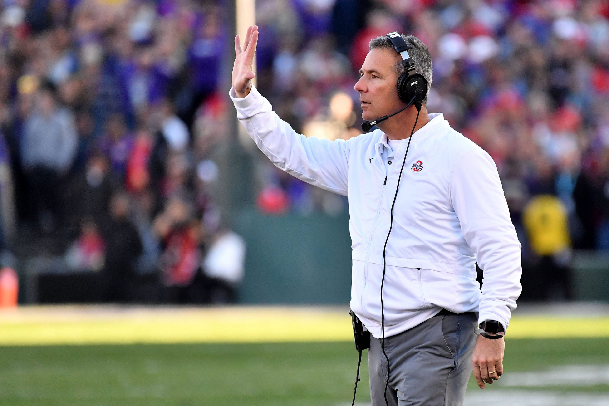 January 1 2019 Pasadena California U S Ohio State Buckeyes head coach Urban Meyer during the