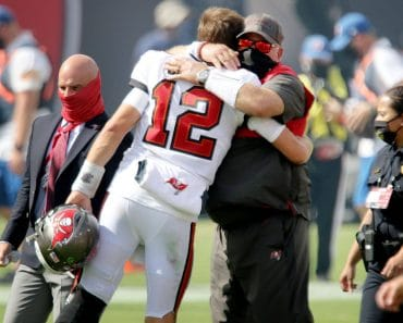 January 27, 2021, USA: It hasn t been all hugs and grins for Tom Brady and Bruce Arians this season, but that s part of