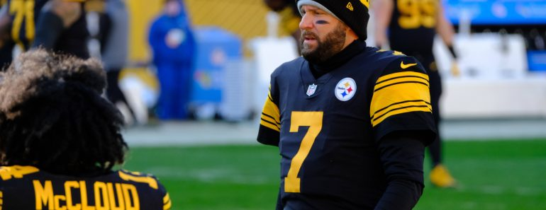 December 2nd, 2020: Ben Roethlisberger 7 during the Pittsburgh Steelers vs Baltimore Ravens game at Heinz Field in Pitts