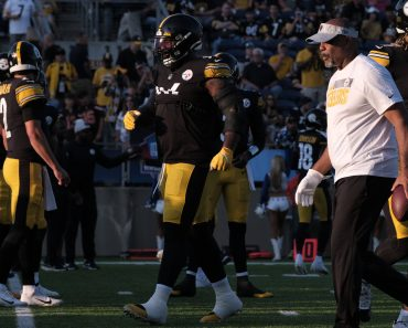 August 5th, 2021: 96 Isaiah Buggs during the Pittsburgh Steelers vs Dallas Cowboys game at Tom Benson Stadium in Canton,