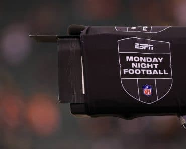 CINCINNATI, OH - DECEMBER 21: A camera with a ESPN Monday Night Football banner during the game against the Pittsburgh S