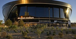 July 30, 2020 - Las Vegas, Nevada, U.S. - Allegiant Stadium, the $2 billion, glass-domed home of the Las Vegas Raiders n