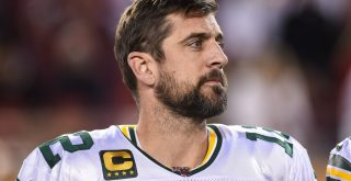 SANTA CLARA, CA - NOVEMBER 24: Green Bay Packers Quarterback Aaron Rodgers (12) on the sidelines before the NFL, America