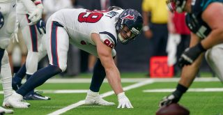 HOUSTON TX SEPTEMBER 15 Houston Texans defensive end JJ Watt 99 lines up during the football